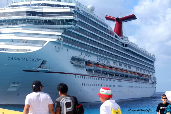 The Carnival Glory - Cozumel Mexico